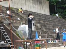 上智福岡 ミニ体育祭 山根会長